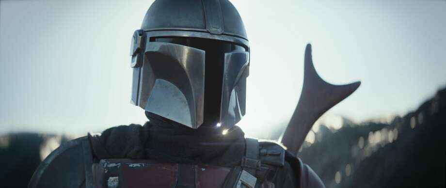 Pedro Pascal is the Mandalorian in the Disney series